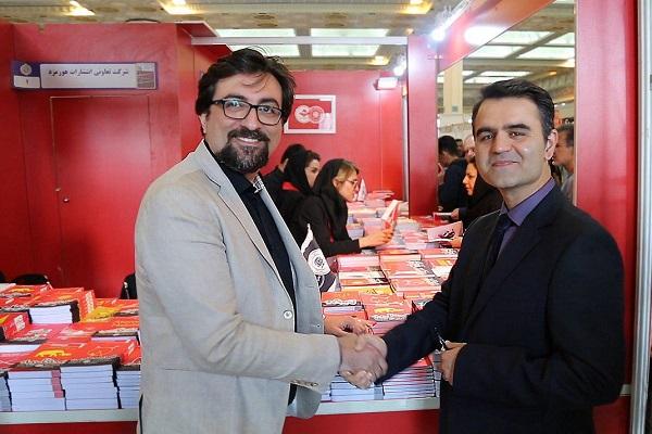 مصاحبه با دکتر کنزی در نمایشگاه بینالمللی کتاب تهران