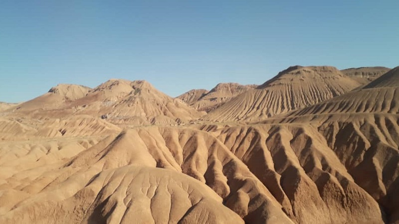تپه های مریخی گرمسار